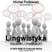 Praktyk NLP: Lingwistyka (łączniki i implikacje)